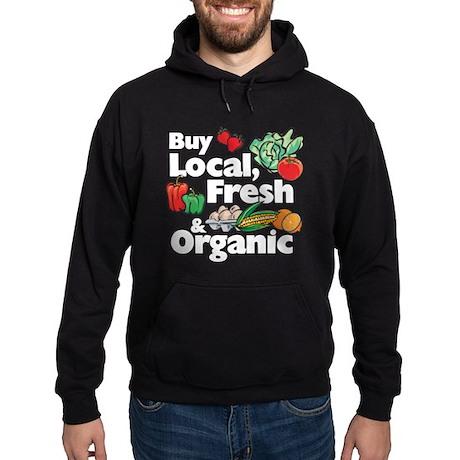 Buy Local Fresh & Organic Hoodie (dark)