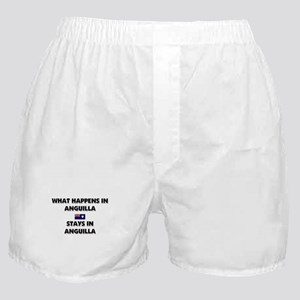 What Happens In ANGUILLA Stays There Boxer Shorts