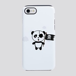 Panda Pirate with Flag Ca19o iPhone 7 Tough Case