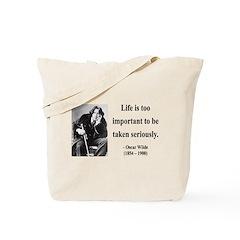 Oscar Wilde 17 Tote Bag