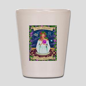 Lady Aquarius Shot Glass