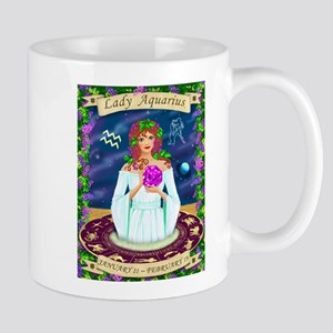 Lady Aquarius Mugs