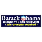 Barack Obama Bumper Sticker (10 pk)