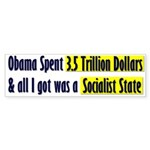 Socialist State Bumper Sticker (50 pk)
