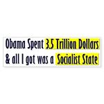 Socialist State Bumper Sticker (10 pk)
