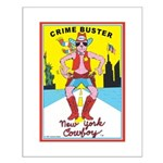 CRIME BUSTERS(New York Cowboy) Small Poster