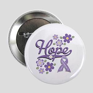 """Hope Alzheimer's Awareness 2.25"""" Button"""