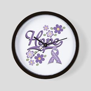 Hope Alzheimer's Wall Clock