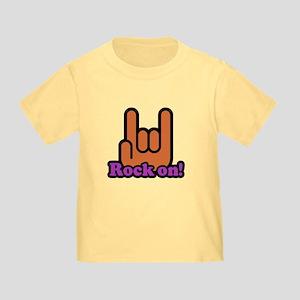 Rock On Toddler T-Shirt