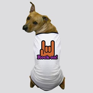 Rock On Dog T-Shirt