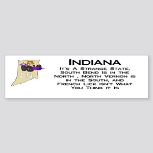 French Lick Indiana Bumper Sticker