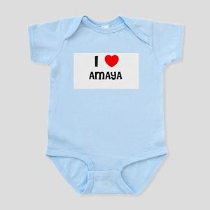 I LOVE AMAYA Infant Creeper