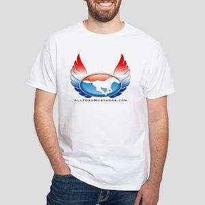Winged Logo White T-Shirt