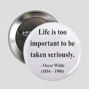 """Oscar Wilde 17 2.25"""" Button"""