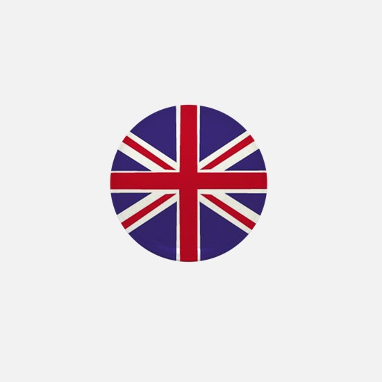 union jack Mini Button