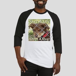Adopt A Dog! Baseball Jersey