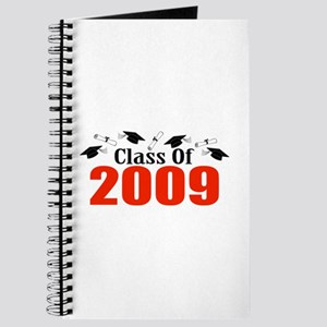 Class Of 2009 (Red Caps And Diplomas) Journal