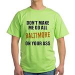 Baltimore Baseball Green T-Shirt