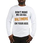 Baltimore Baseball Long Sleeve T-Shirt