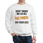 Baltimore Baseball Sweatshirt