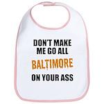 Baltimore Baseball Bib