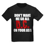 Washington Baseball Kids Dark T-Shirt