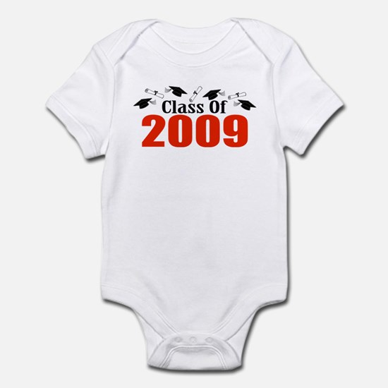 Class Of 2009 (Red Caps And Diplomas) Infant Bodys