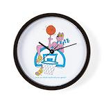 Ok-9 Inspiration(basketball) Wall Clock
