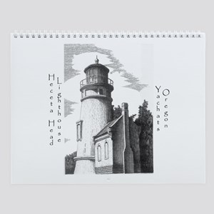 Heceta Head Lighthouse Wall Calendar