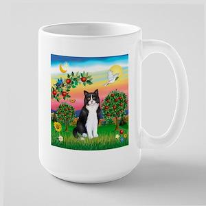 Bright Country / (B&W) Cat Large Mug