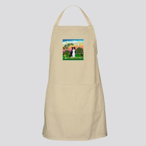 Bright Country / (B&W) Cat BBQ Apron