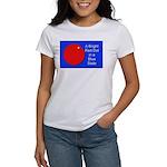 Red Dot/Blue State Women's T-Shirt