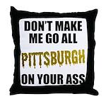 Pittsburgh Baseball Throw Pillow
