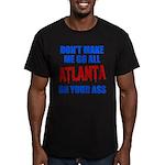 Atlanta Baseball Men's Fitted T-Shirt (dark)