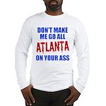 Atlanta Baseball Long Sleeve T-Shirt