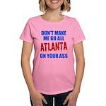 Atlanta Baseball Women's Dark T-Shirt