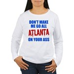 Atlanta Baseball Women's Long Sleeve T-Shirt