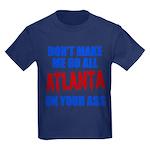 Atlanta Baseball Kids Dark T-Shirt