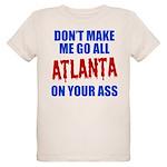 Atlanta Baseball Organic Kids T-Shirt