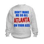 Atlanta Baseball Kids Sweatshirt