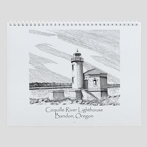 Coquille River Wall Calendar