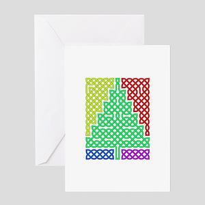 Multicolor Tree Greeting Card