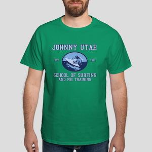 johnny utah surfing school Dark T-Shirt
