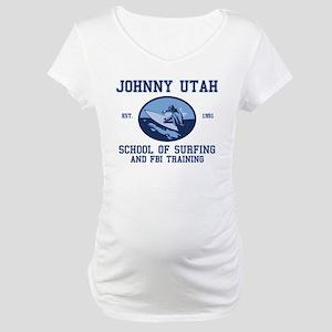 johnny utah surfing school Maternity T-Shirt