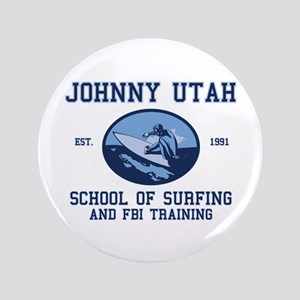 """johnny utah surfing school 3.5"""" Button"""