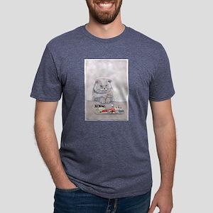 3-SushiCatFullSizelarge T-Shirt