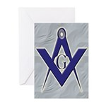 Masonic Blue Lodge Greeting Cards (Pk of 20)