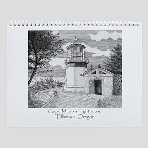 Cape Meares Wall Calendar