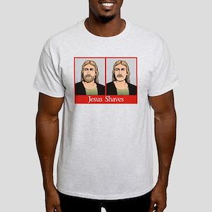 Jesus Shaves Light T-Shirt