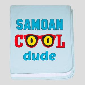 Samoan Cool Dude baby blanket